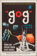 """Movie Posters:Science Fiction, Gog (United Artists, 1954). One Sheet (27"""" X 41""""). Science Fiction.. ..."""