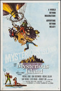 "Movie Posters:Science Fiction, Mysterious Island (Columbia, 1961). One Sheet (27"" X 41""). Science Fiction.. ..."