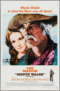 "Movie Posters:Western, Monte Walsh (National General, 1970). One Sheet (27"" X 41""), Lobby Card Set of 8 (11"" X 14""), & Pressbook (16 Pages, 8.5"" X ... (Total: 10 Items)"
