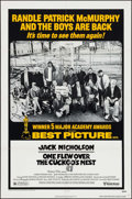 "Movie Posters:Academy Award Winners, One Flew Over the Cuckoo's Nest (United Artists, R-1978). One Sheet(27"" X 41""). Academy Award Winners.. ..."