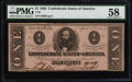 Confederate Notes:1863 Issues, T62 $1 1863 PF-3 Cr. 475.. ...