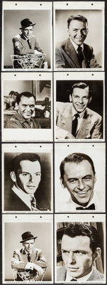 """Frank Sinatra (United Artists, 1956/1959). Keybook Portrait Photos (14) (8"""" X 11""""). Musical. ... (Total: 14 It..."""