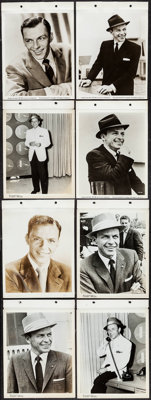 """Frank Sinatra Lot (United Artists, 1955/1959). Keybook Portrait Photos (15) (8"""" X 10""""). Musical. ... (Total: 1..."""