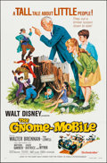 "Movie Posters:Musical, The Gnome-Mobile & Others Lot (Buena Vista, 1967). One Sheets (4) (27"" X 41""). Musical.. ... (Total: 4 Items)"