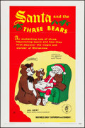 "Movie Posters:Animation, Santa and the Three Bears & Other Lot (Cinetron, 1970). OneSheets (2) (27"" X 41""). Animation.. ... (Total: 2 Items)"