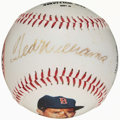 Autographs:Baseballs, Ted Williams Single Signed Photoball Baseball. ...