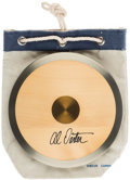 Olympic Collectibles:Autographs, Al Oerter Signed Discus with Bag.. ...