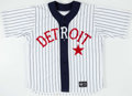 Baseball Collectibles:Uniforms, 1998 Larry Parrish Game Worn Detroit Tigers Throwback Jersey with Team Letter. ...