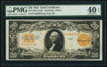 Large Size:Gold Certificates, Fr. 1187 $20 1922 Mule Gold Certificate PMG Extremely Fine 40 EPQ.. ...