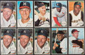 Baseball Cards:Sets, 1964 Topps Giants Baseball Complete Set (60) Plus 3 Extra Mantle Cards. ...