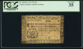 Colonial Notes:South Carolina, South Carolina December 23, 1776 $6 PCGS Very Fine 35.. ...