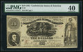 Confederate Notes:1861 Issues, T30 $10 1861 PF-5 Cr. 241.. ...