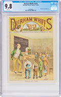 Platinum Age (1897-1937):Miscellaneous, Durham Whiffs V1#1 (Blackwells Durham Tobacco, 1878) CGC NM/MT 9.8 White pages....