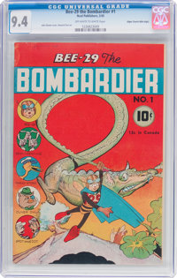 Bee-29 The Bombardier #1 Mile High Pedigree (Neal Publications, 1945) CGC NM 9.4 Off-white to white pages