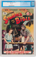 Golden Age (1938-1955):Religious, Picture Stories from the Bible New Testament #1 Gaines FilePedigree (EC, 1946) CGC NM- 9.2 Off-white pages....