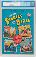 Golden Age (1938-1955):Religious, Picture Stories from the Bible Old Testament #2 Gaines File Pedigree (EC, 1946) CGC NM 9.4 Off-white pages....