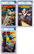 Silver Age (1956-1969):Miscellaneous, DC Silver Age Comics CGC-Graded Group of 3 (DC, 1967-69)....(Total: 3 Comic Books)