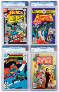 Bronze Age (1970-1979):Miscellaneous, DC Bronze and Modern Age Comics CGC-Graded Group of 4 (DC, 1976-82)CGC VF/NM 9.0.... (Total: 4 Comic Books)