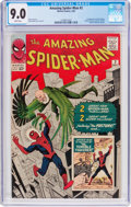 Silver Age (1956-1969):Superhero, The Amazing Spider-Man #2 (Marvel, 1963) CGC VF/NM 9.0 Whitepages....