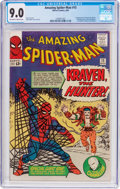 Silver Age (1956-1969):Superhero, The Amazing Spider-Man #15 (Marvel, 1964) CGC VF/NM 9.0 Off-whiteto white pages....