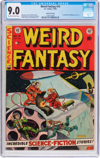 Weird Fantasy #14 Gaines File Pedigree 9/9 (EC, 1952) CGC VF/NM 9.0 Off-white to white pages