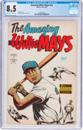 Golden Age (1938-1955):Non-Fiction, The Amazing Willie Mays #nn (Famous Funnies Publications, 1954) CGCVF+ 8.5 Cream to off-white pages....