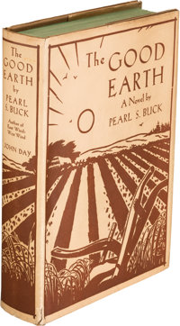 "Pearl S. Buck. The Good Earth. New York: The John Day Company, [1931]. First edition with ""The"