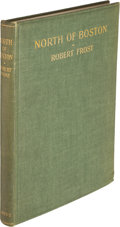 Books:Literature 1900-up, Robert Frost. North of Boston. London: David Nutt, [1914].First edition, inscribed by the author on the front f...