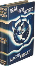 Books:Literature 1900-up, Aldous Huxley. Brave New World. London: Chatto & Windus, 1932. First edition....