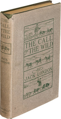 Jack London. The Call of the Wild. New York: The Macmillan Company, 1903. First edition