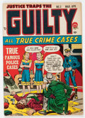 Golden Age (1938-1955):Crime, Justice Traps the Guilty #3 (Prize, 1948) Condition: FN....
