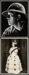 """Movie Posters:War, Victor McLaglen in The Lost Patrol by Ernest A. Bachrach &Other Lot (RKO, 1934). Portrait Photos (2) (11"""" X 14""""). War.. ...(Total: 2 Items)"""