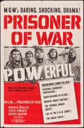 "Movie Posters:War, Prisoner of War (MGM, 1954). One Sheet (27"" X 41""). War.. ..."