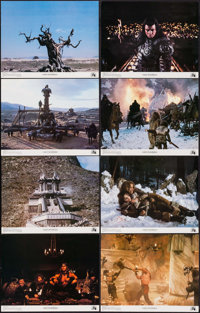 """Conan the Barbarian (Universal, 1982). Lobby Card Set of 8 (11"""" X 14""""). Action. ... (Total: 8 Items)"""