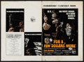 "Movie Posters:Western, For a Few Dollars More (United Artists, 1967). Uncut BritishPressbook (12 Pages, 9.75"" X 14.25""). Western.. ..."