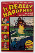 Golden Age (1938-1955):War, It Really Happened #2 (Wm. H. Wise & Co., 1944) Condition:VF+....