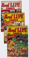 Golden Age (1938-1955):Non-Fiction, Real Life Comics Group of 7 (Nedor Publications, 1945-46)Condition: Average FN+.... (Total: 7 Comic Books)
