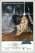 "Movie Posters:Science Fiction, Star Wars (20th Century Fox, 1977). First Printing One Sheet (27"" X41""). Science Fiction.. ..."