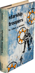Books:Science Fiction & Fantasy, Robert A. Heinlein. Starship Troopers. New York: G. P.Putnam's Sons, [1959]. First edition....