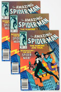 Modern Age (1980-Present):Superhero, The Amazing Spider-Man #252 Group of 15 (Marvel, 1984) Condition:Average FN.... (Total: 15 Comic Books)