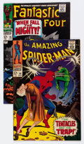 Silver Age (1956-1969):Superhero, The Amazing Spider-Man #54/Fantastic Four #70 Group (Marvel, 1967-68).... (Total: 2 Comic Books)