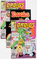 Modern Age (1980-Present):Science Fiction, Droids #1/Ewoks #1 Group of 16 (Marvel, 1985-86) Condition: AverageVF/NM.... (Total: 16 Comic Books)