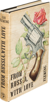 Ian Fleming. From Russia, with Love. London: Jonathan Cape, [1957]. First edition