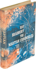Books:Science Fiction & Fantasy, Ray Bradbury. The Martian Chronicles. Garden City: Doubleday, 1950. First edition, signed by the author....