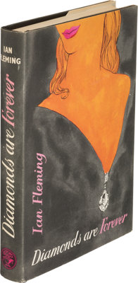 Ian Fleming. Diamonds are Forever. London: Jonathan Cape, [1956]. First edition, first impressi