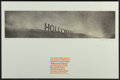 Fine Art - Work on Paper:Print, Ed Ruscha (b. 1937). Hollywood in the Rain, from Hollywood Collects, 1970. Offset lithograph in colors on paper. 7 x...