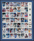 Autographs:Others, 1984 PPG Indy Car World Series Signed Uncut Sheet Set....