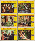 "Movie Posters:Science Fiction, The Land Unknown (Universal International, 1957). Lobby Cards (6) (11"" X 14""). Science Fiction.. ... (Total: 6 Items)"