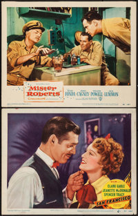 "San Francisco & Other Lot (MGM, R-1948). Lobby Cards (2) (11"" X 14""). Romance. ... (Total: 2 Items)"