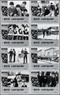 "Movie Posters:Rock and Roll, A Hard Day's Night (United Artists, R-1982). Lobby Card Set of 8(11"" X 14""). Rock and Roll.. ... (Total: 8 Items)"